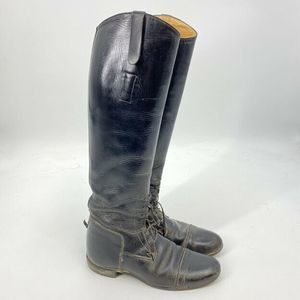 Grand Prix Tall Riding Boots 8.5 Equestrian Leathe